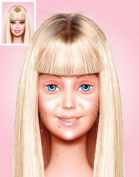 Barbie no make up