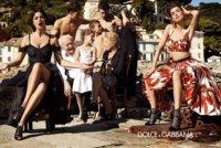 Las donnes italianas, la familia y la tradición sin impuestos. Dolce&Gabbana campaña Primavera-Verano 2012