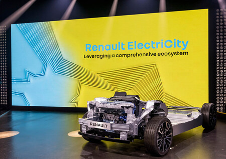 Renault coche eléctrico plataforma CMF-EV y CMF-BEV