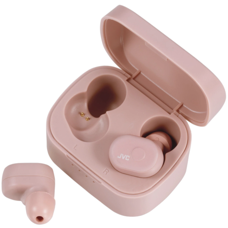 Auriculares De Boton Jvc Ha A10t P U Rosa True Wireless Bluetooth