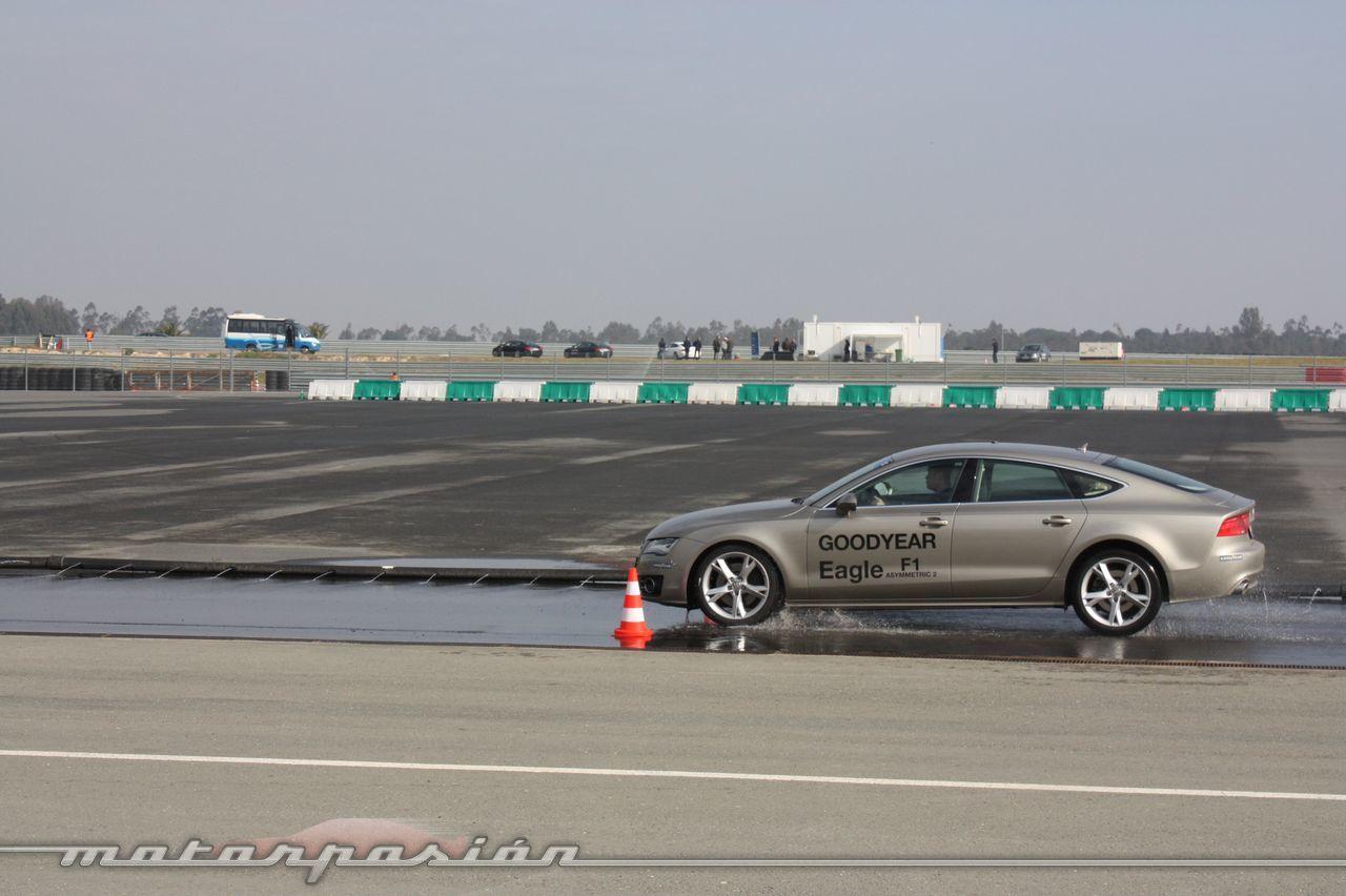 Foto de Goodyear Eagle F1: Audi TT RS, Audi A7 y Mercedes CLS (33/79)