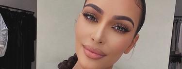"""Kim Kardashian muestra su maquillaje """"rápido y sencillo"""" para el confinamiento, con el que nosotras iríamos de boda"""