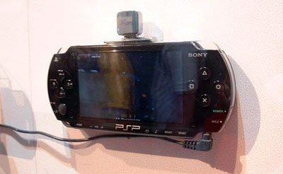 PSP incorporará email y GPS de serie