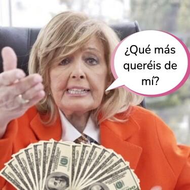 Hacienda vuelve a crujir a María Teresa Campos: una última deuda se suma a su larga lista de problemas con el fisco