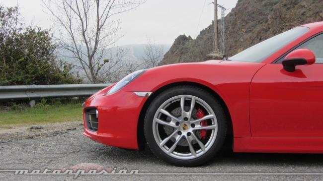 Porsche Cayman 2013 delantero