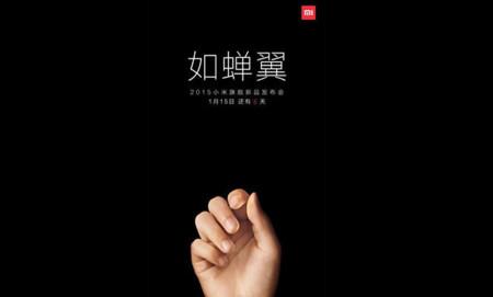 El Xiaomi Mi5 (o quizás el Mi4S) podría ser presentado el 15 de enero