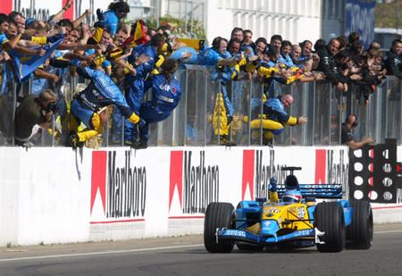 10 años de la primera victoria de Fernando Alonso