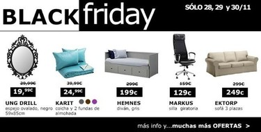 IKEA y su Black Friday... o Saturday, van por libre, ¡pero van!