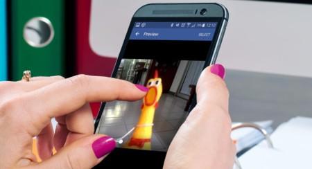 Ya puedes comentar con vídeos en Facebook para Android