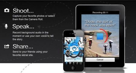 SpeakingPhoto, una nueva app para tu iPhone o iPad