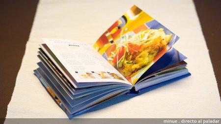 Libro de recetas con patata - interior