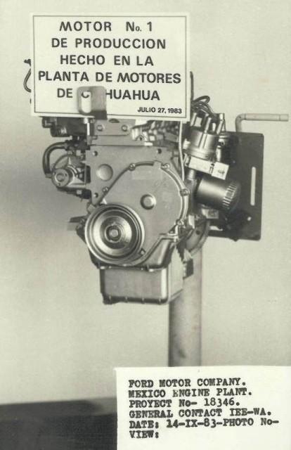 30 Años fabricando motores Ford en Chihuahua