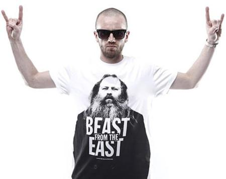 Camiseta 'Beast from the East' con Rick Rubin