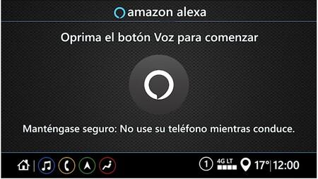 Pantalla Alexa