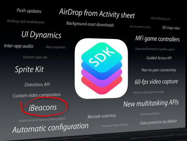 Apple consigue una patente que apunta a un futuro lleno de iBeacons