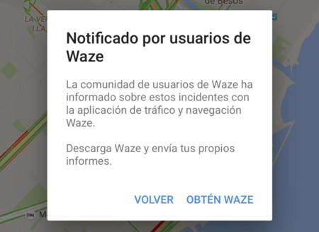 Waze Reporte