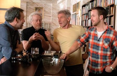 Villenueve, Scott, Ford y Gosling