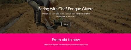 Google Arts Culture Sabores Mexico Taste Gastronomia Mexicana