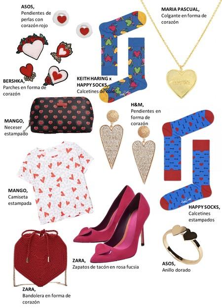 Shopping San Valentin Corazones