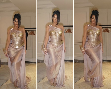 Kim Kardashian Mugler Vintage