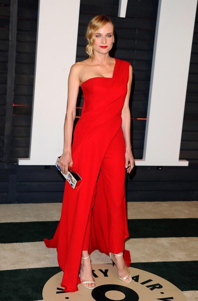 Diane Kruger de Donna Karan Atelier