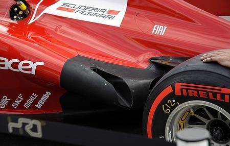 Ferrari estrenará escapes parecidos a los de McLaren y Sauber