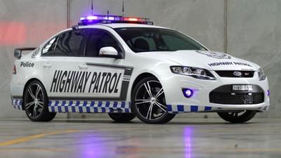 Indigestado un FPV GT de la policía por consumir 'alfalfa' barata