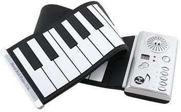 Piano portátil y práctico