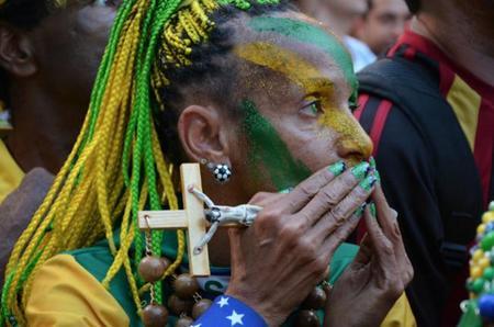 Así vivieron los aficionados esta Copa Mundial de Fútbol de Brasil