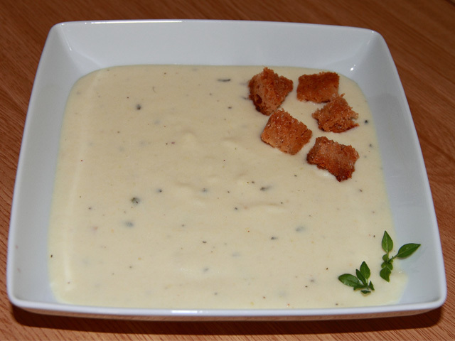 Crema fr a de calabacines con nata para cocinar sin lactosa for Cocinar con 20 soles