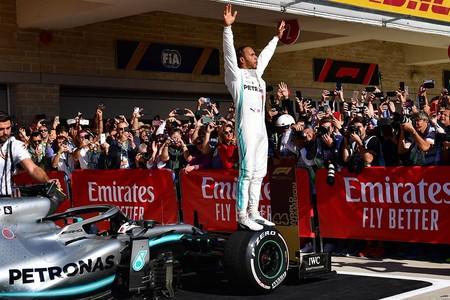 Hamilton F1 2019