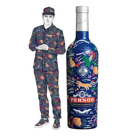 Pernod Absinthe Capsule Collection, edición limitada diseñada por Maison Kitsuné