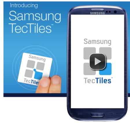 Samsung TecTiles, etiquetas para aprovechar el soporte NFC