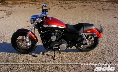 Harley-Davidson XL 1200CA Custom Limited, prueba (conducción en ciudad y carretera)