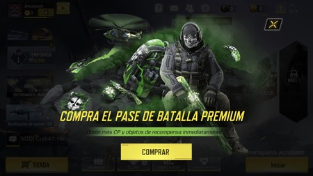 Call Of Duty Pase Premium