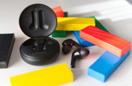 Los auriculares Bluetooth sin cables LG TONE Free FN6 se desinfectan solos con UV y están rebajadísimos a 59,99 euros en Amazon