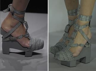 Galliano para Christian Dior Haute Couture: pasos de Geisha