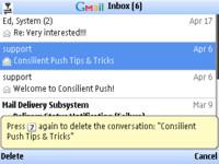 Actualizado Gmail para los Nokia Eseries
