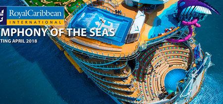 De viaje pre-inaugural en el 'Symphony of the seas', el barco más grande del mundo
