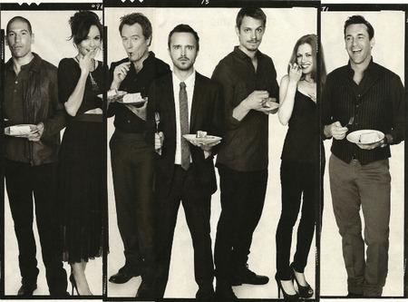 Los actores de AMC, la imagen de la semana