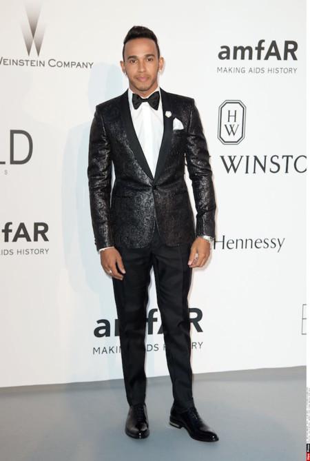Lewis Hamilton Amfar 2015