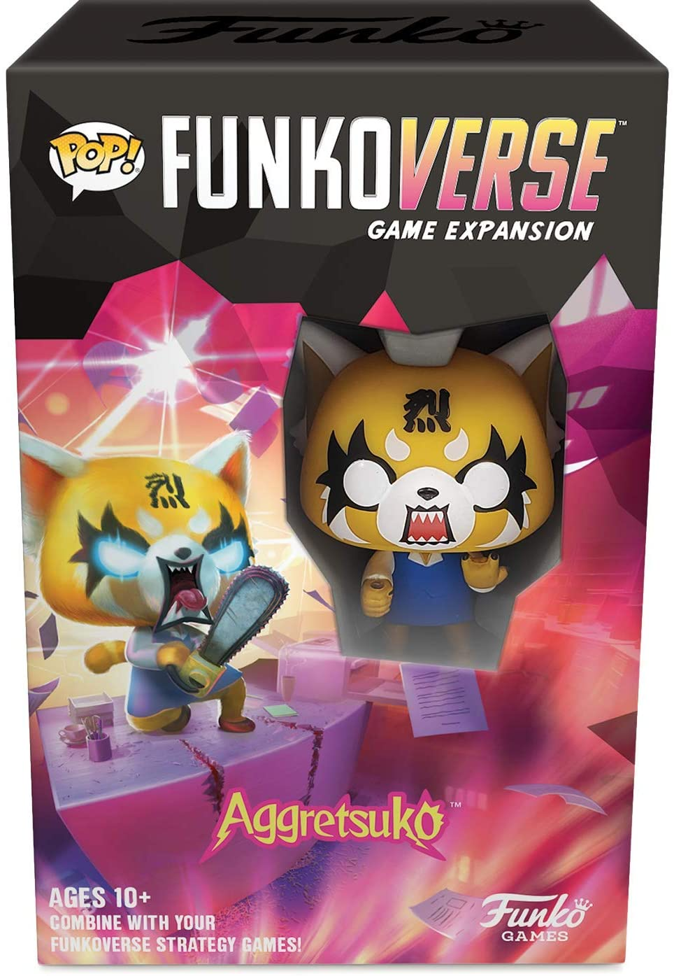 Funko Pop! Funkoverse: Aggretsuko Game Expansion