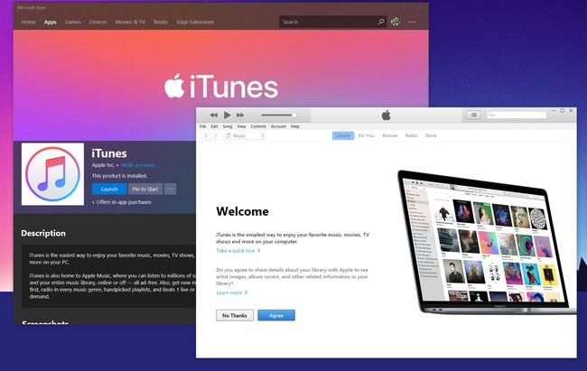 iTunes por fin llega a la Microsoft Store