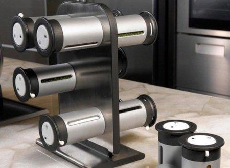 Especieros magnéticos y modernos