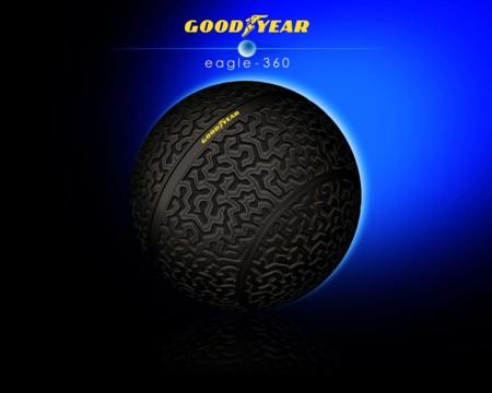 Goodyear Eagle-360. ¿Y creías que lo habías visto TODO en cuestión de neumáticos?