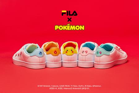 Fila y Nintendo se unen para la fabricación de una serie de zapatillas basadas en Pokémon