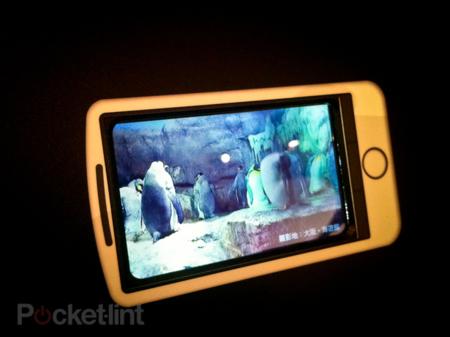 sharp camara 3d pantalla