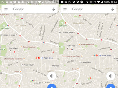 Nunca es tarde si la dicha es buena: llega la barra transparente a Google Maps [APK]