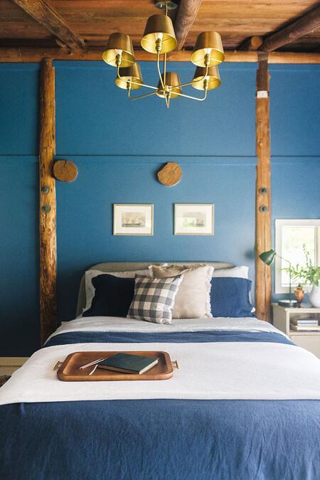 Cabin Guest Bedroom Makeover Reveal Bhg Walmart Jojotastic 37