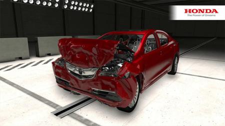Honda se lleva las pruebas de choque al mundo digital